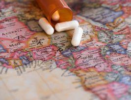 Medicamentos para el botiquín de viaje