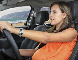 Embarazo y viajes – Viajando en automóvil