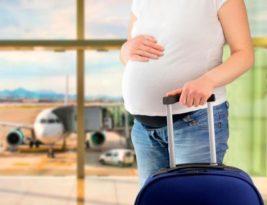 Embarazo y viajes – Viajando en avión